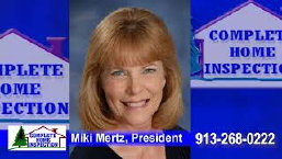Kansas City home inspections - Miki Mertz